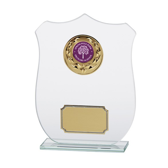 Jade Glass Titan Shield Multisport Award