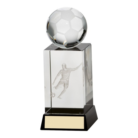 Sterling Football Crystal Award