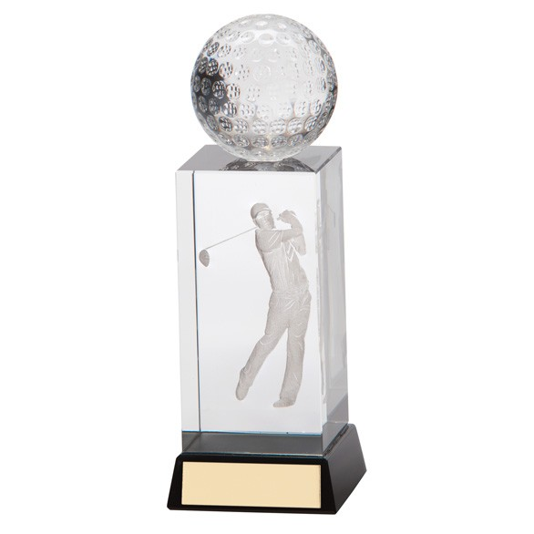 Stirling Golf Crystal Award