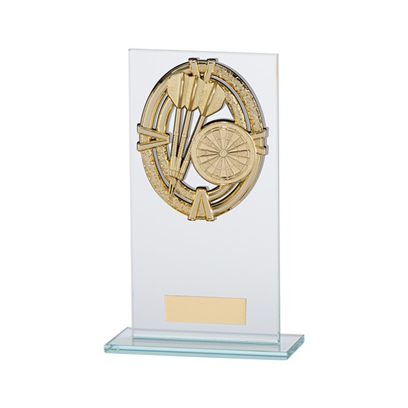 Maverick Legacy Glass Award Darts Gold