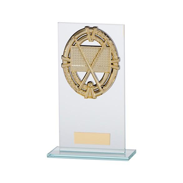 Maverick Legacy Glass Award Hockey Gold