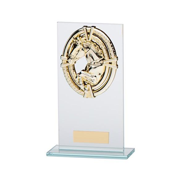 Maverick Legacy Glass Equestrian Gold