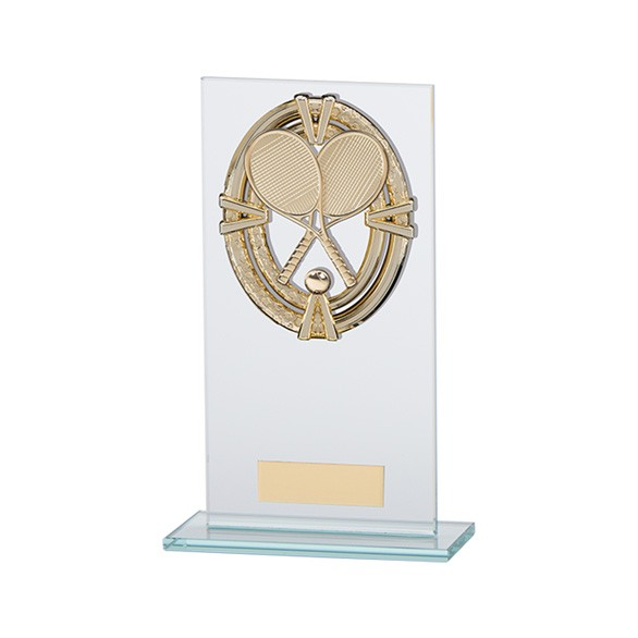Maverick Legacy Glass Award Tennis Gold