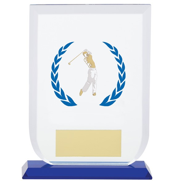 Gladiator Male Golf Glass Award