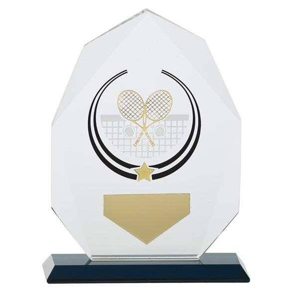 Glacier Tennis Glass Award