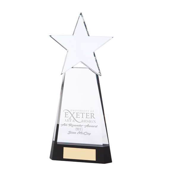 Legend Star Optical Crystal Award