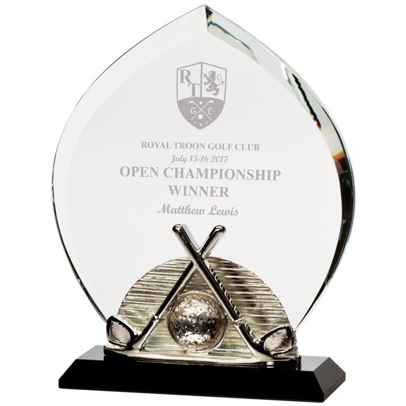 Venture Golf Crystal Award