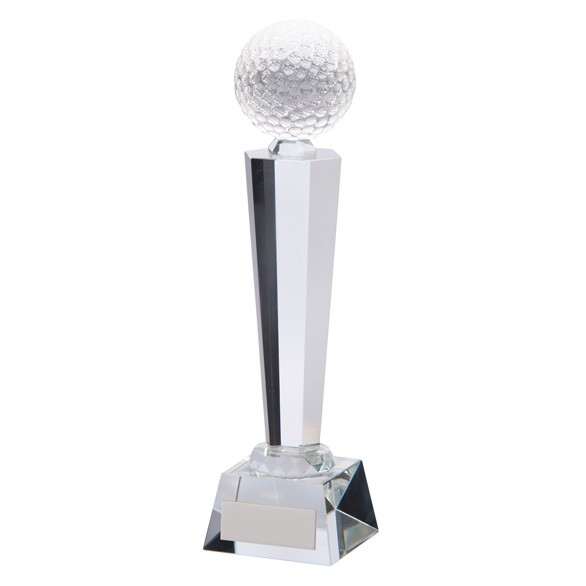 Interceptor Golf Crystal Award
