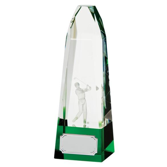 Pinnacle Golf Crystal Award
