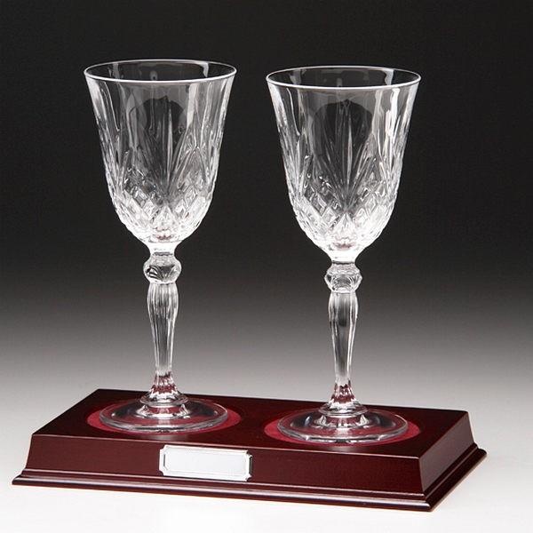 Lindisfarne St Joseph Crystal Wine Glass