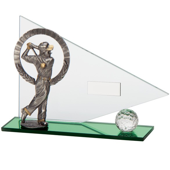 Match Play Golf Male Glass