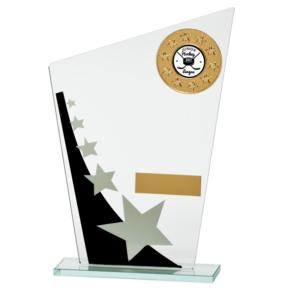 Jade Cosmic Star Multisport Glass Award