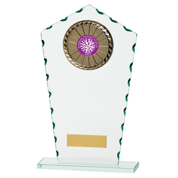 Jade Defender Multisport Glass Award