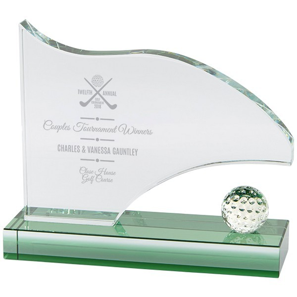 Royal Golf Jade Glass Award