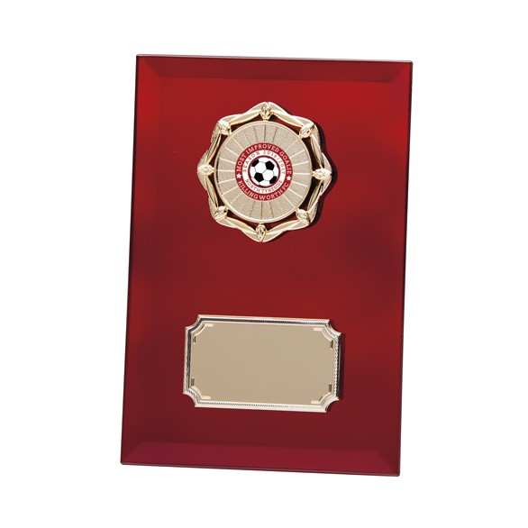 Ruby Mirage Mirror Plaque