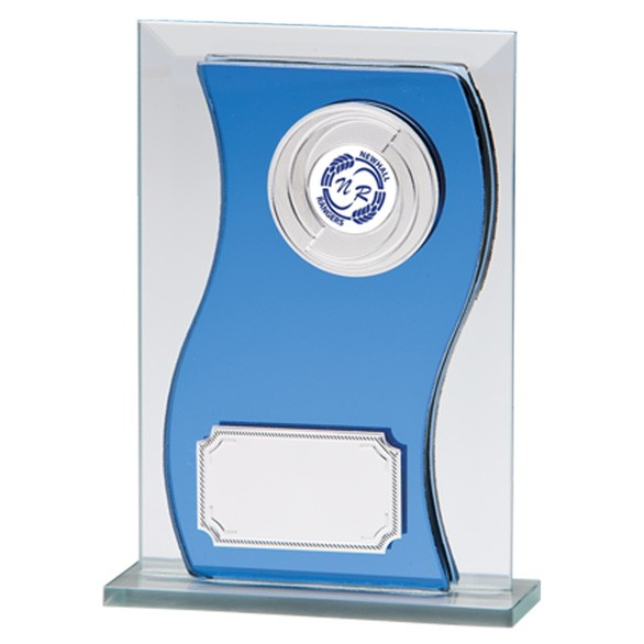 Azzuri Wave Mirror Plaque