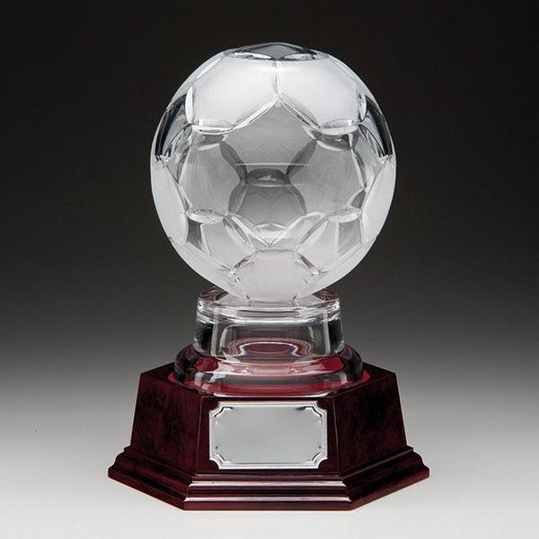 Lindisfarne 3D Football Globe Crystal