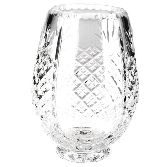Lindisfarne St Bernica Crystal Vase