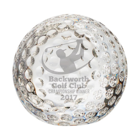 Muir Crystal Optical Golf Ball