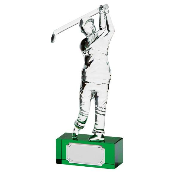 Acclaim Golfer Crystal Award