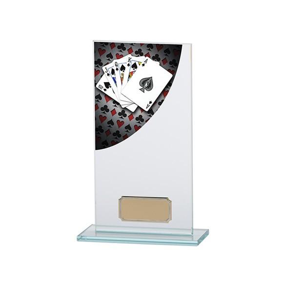 Poker Colour-Curve Jade Crystal Award