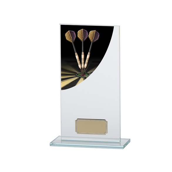 Darts Colour-Curve Jade Crystal Award