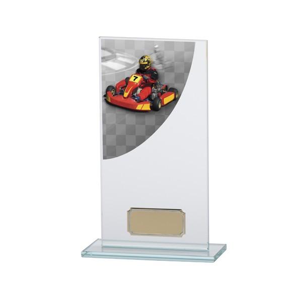 Go-Kart Colour-Curve Jade Crystal Award