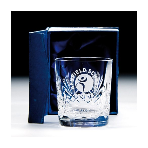 Lindisfarne Evin Crystal Whiskey Glass