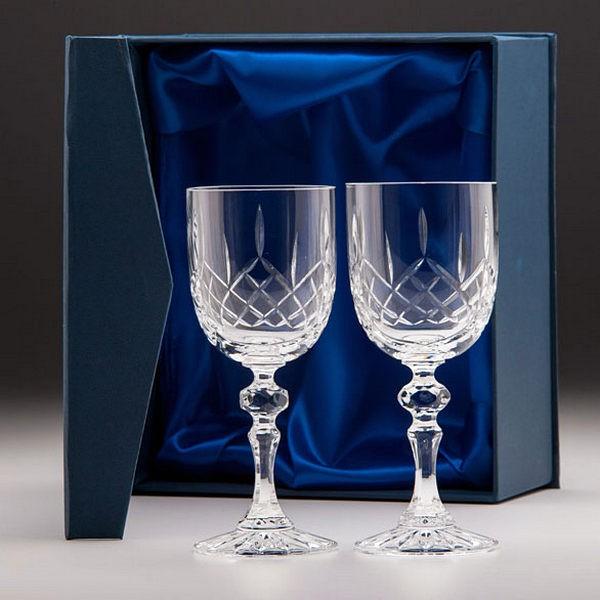Lindisfarne Suna Crystal Wine Glasses