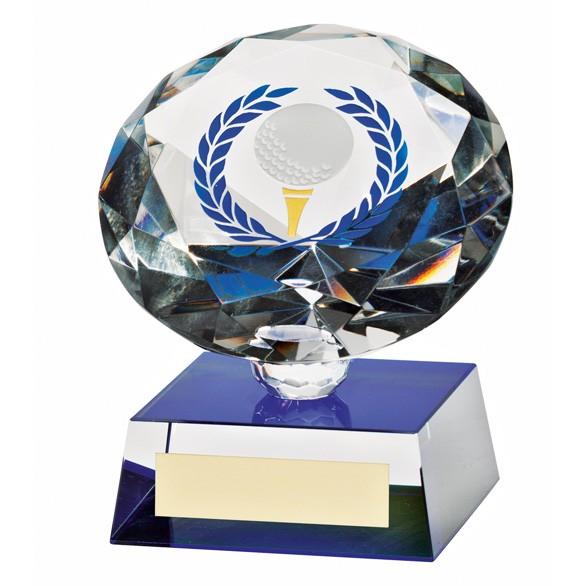 Diamond Spirit Crystal Golf Award