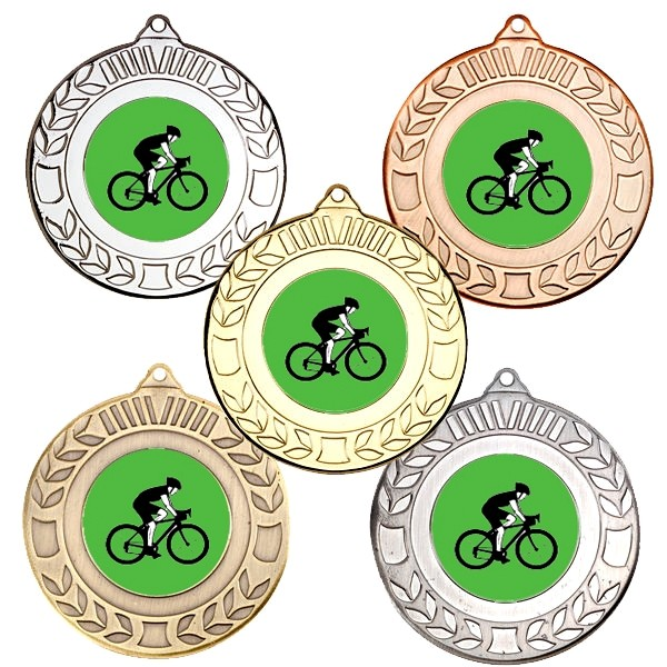 Cycling Wreath Medals