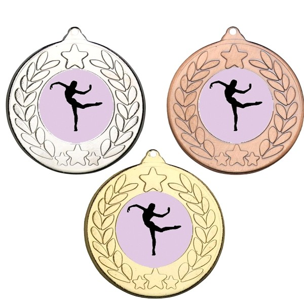 Dance Stars and Wreath Medals