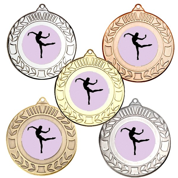 Dance Wreath Medals