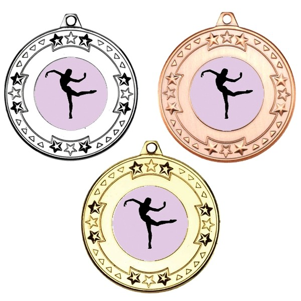 Dance Tri Star Medals