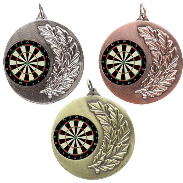 Darts Laurel Medals