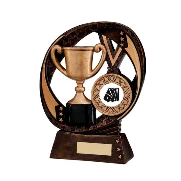 Typhoon Achievement Award with Dominoes Insert