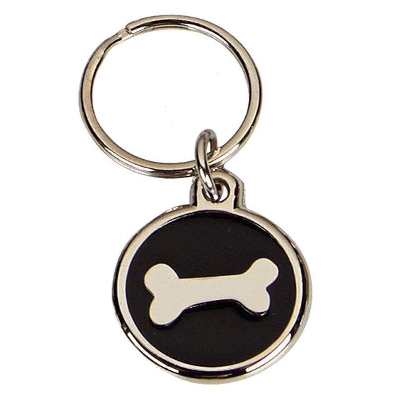 Black Bone Dog Tag 22mm
