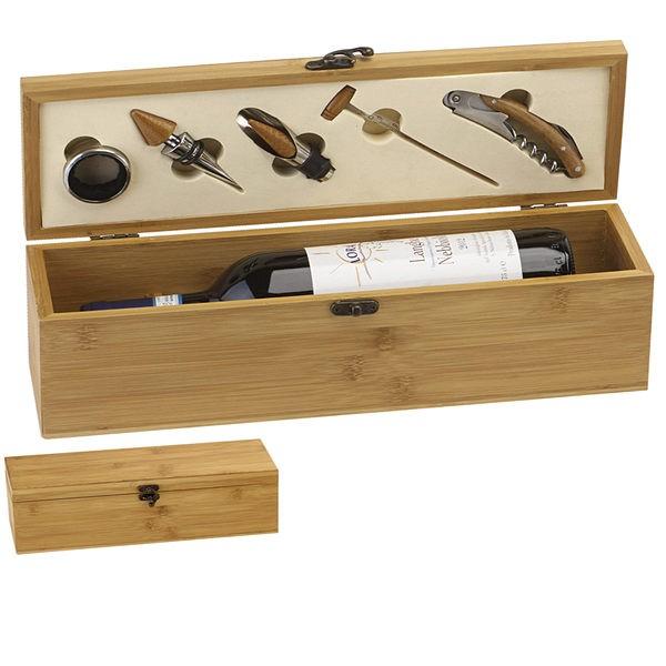 Bamboo Single Wine Set