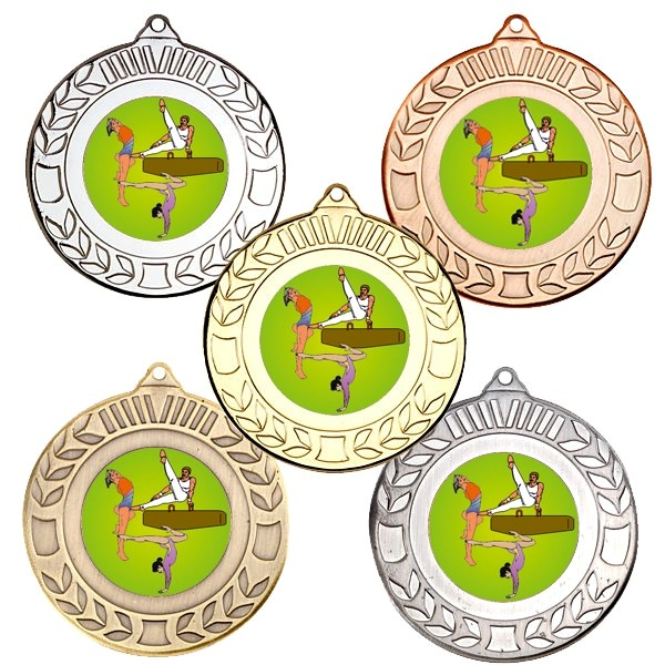 Gymnastics Wreath Medals