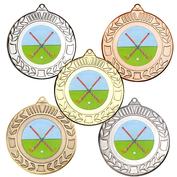 Hockey Wreath Medals