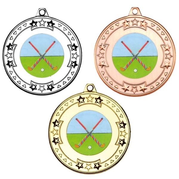 Hockey Tri Star Medals
