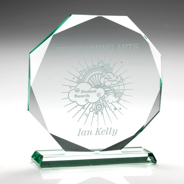 Jade Glass Octagon (15mm Thick)
