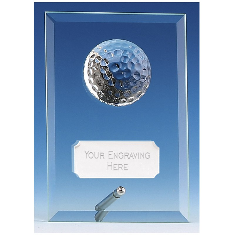 Golf Prize Plaque