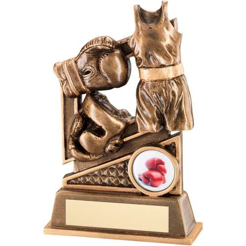 Bronze/Gold Boxing Diamond Series Trophy
