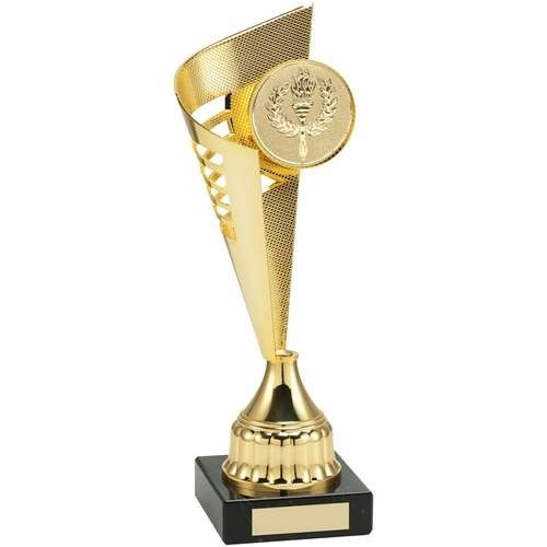 Gold Plastic Flair Trophy