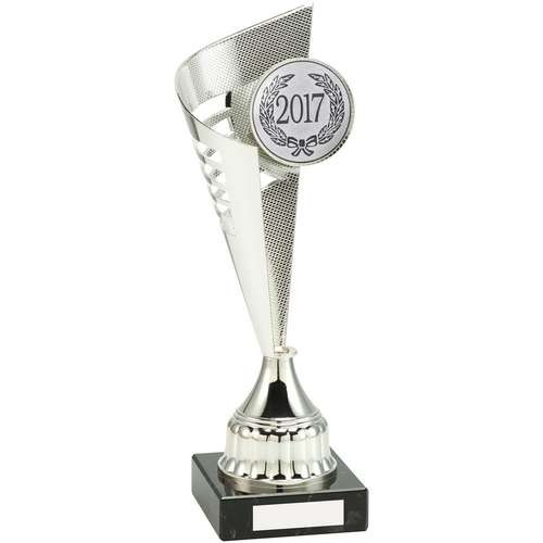 Silver Plastic Flair Trophy