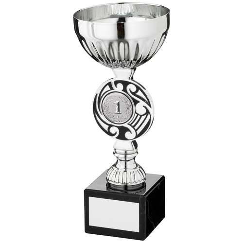 Silver/Black Round Celtic Trophy