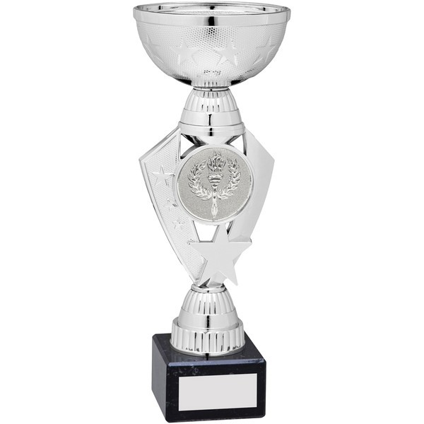 Silver Total Plastic Star Trophy