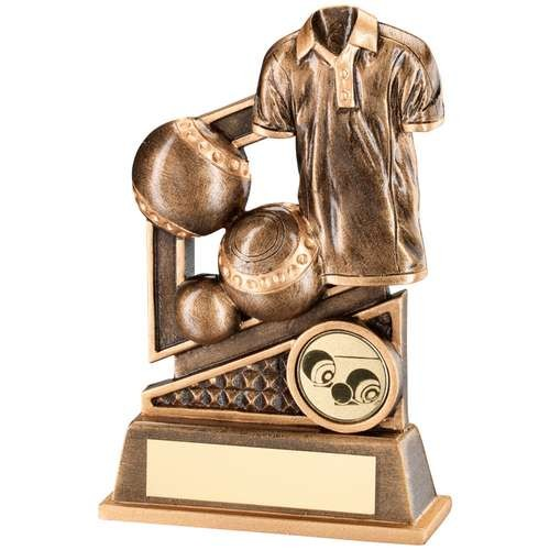 Bronze/Gold Lawn Bowls Diamond Series Trophy