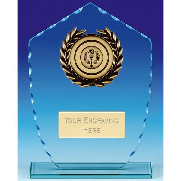 Explorer Jade Glass Trophy